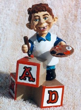 Fantasy Toys with Alfred E. Neuman (by Tom Anderson) • USA