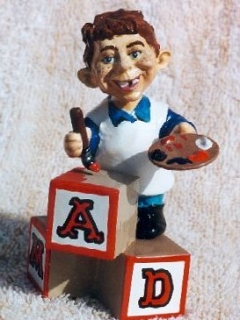 Go to Fantasy Toys with Alfred E. Neuman (by Tom Anderson) • USA