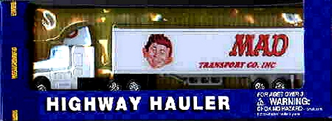 Toy Trucker Highway Hauler Model 'MAD Transport Co. Inc.' • USA
