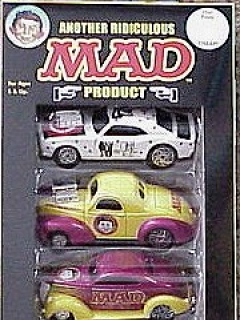 Go to Hot Rod MAD Cars 'Dyno-Mite Diecast' (5 in a package) • USA