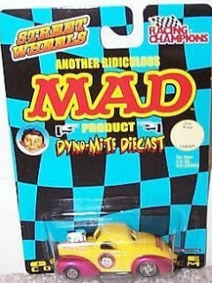 Racing Champion MAD Hot Rod 41' Willys • USA