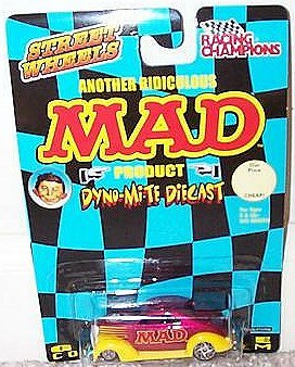 Racing Champion MAD Hot Rod 37' Ford Coupé • USA