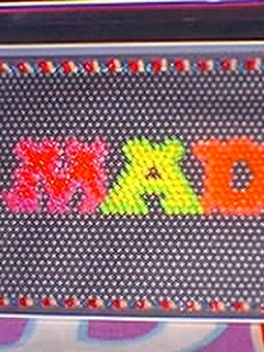MAD Logo Lite-Brite • USA