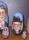 Nesting Dolls Alfred E. Neuman Look-A-Like