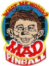 Image of MAD Pinball Cloth Patch