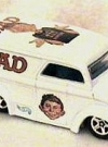 Custom Toy MAD Milk Truck