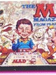 Dollhouse Miniature MAD Board Game • USA