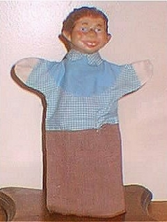 Go to Hand Puppet Alfred E. Neuman #1