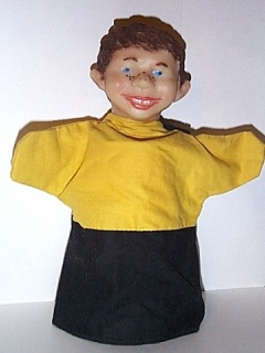 Go to Hand Puppet Alfred E. Neuman #3