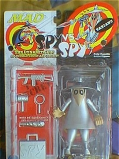 Go to Action Figure White Spy vs Spy Variant (SILVER) 1998 • USA