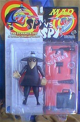 Action Figure Black Spy vs Spy 1998 • USA