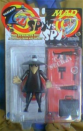 Action Figure Black Spy vs Spy Variant (Satin Finish) • USA