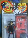 Action Figure Black Spy vs Spy Variant (Satin Finish)