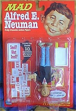 Alfred E. Neuman  Fully Poseable Action Figure • USA