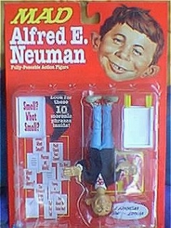 Go to Action Figure Alfred E. Neuman  1998 • USA