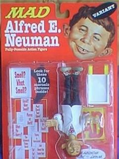 Action Figure Alfred E. Neuman (White Coat Variant) 1998 • USA