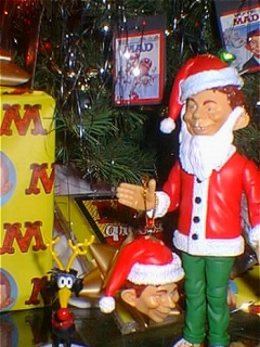 Action Figure Santa Alfred E. Neuman 1999 • USA