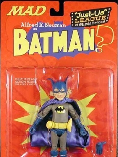 Action Figure 'Alfred as Batman' 2001 • USA