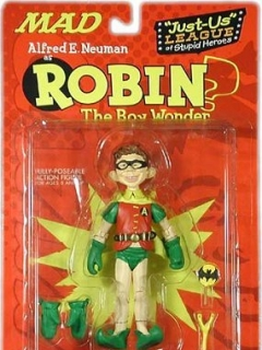 Action Figure 'Alfred as Robin' 2001 • USA