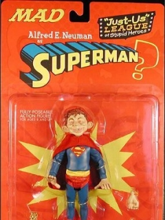 Action Figure 'Alfred as Superman' 2001 • USA