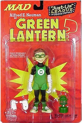 Action Figure 'Alfred as Green Lantern' 2001 • USA