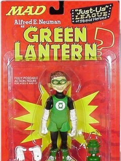 Go to Action Figure 'Alfred as Green Lantern' 2001 • USA