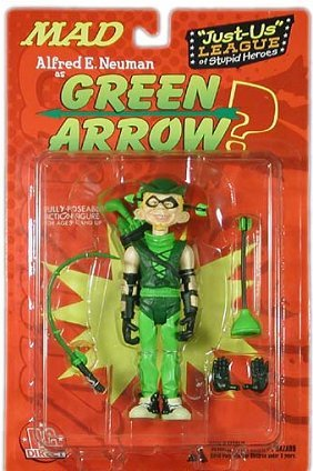 Action Figure 'Alfred as Green Arrow' 2001 • USA