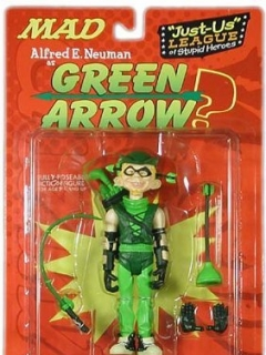 Go to Action Figure 'Alfred as Green Arrow' 2001 • USA