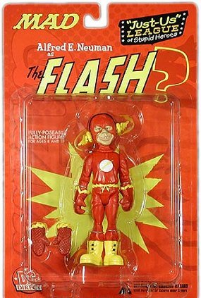 Action Figure 'Alfred as Flash' • USA
