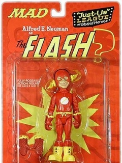 Action Figure 'Alfred as Flash' 2001 • USA