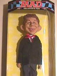 Doll Alfred E. Neuman Packaged Spencer Gifts • USA