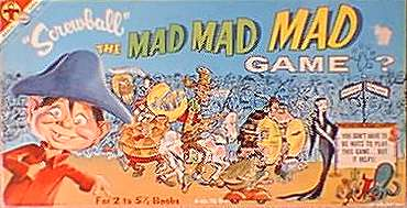 Board Game 'Screwball - The MAD Board Game' • USA