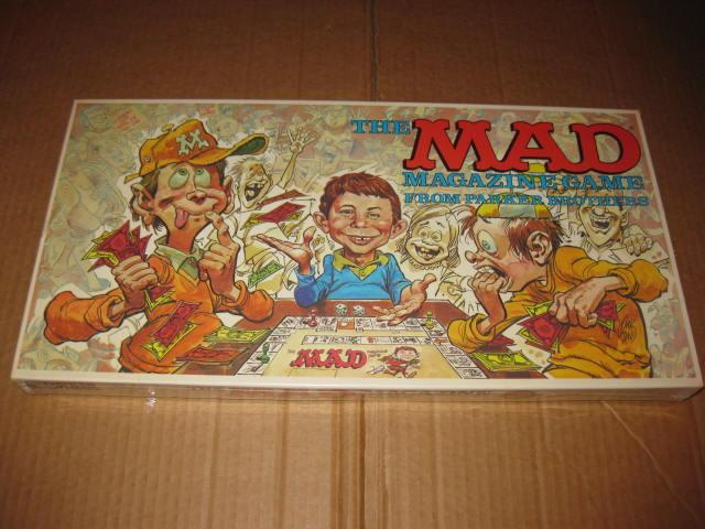 Board Game 'The MAD Magazine Game' (Parker Brothers) • USA