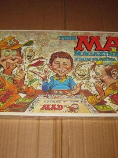 Go to Board Game 'The MAD Magazine Game' (Parker Brothers) • USA