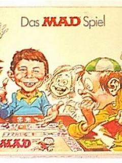 Board Game 'The MAD Magazine Game' (Parker Brothers, 2nd Version) • Germany