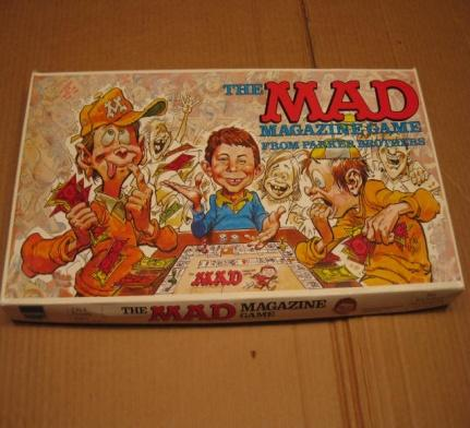 Board Game 'The MAD Magazine Game' • South Africa
