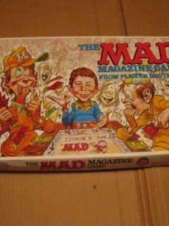 Board Game 'The MAD Magazine Game'
