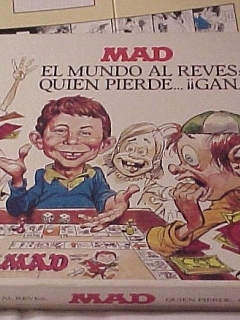 Go to Board Game 'The MAD Magazine Game' • Spain