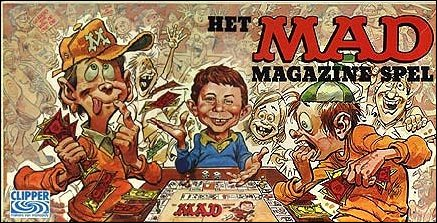 Board Game 'The MAD Magazine Game' • Netherlands