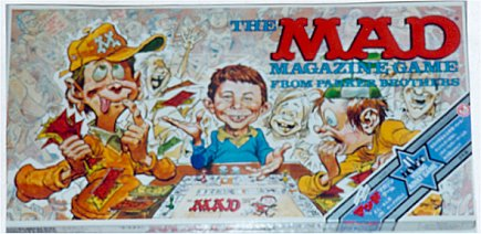 Board Game 'The MAD Magazine Game' • Japan