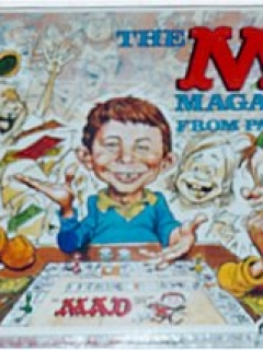 Go to Board Game 'The MAD Magazine Game'