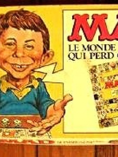 Board Game 'The MAD Magazine Game' • France