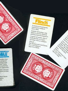 Card Games 'Rook' 'Flinch' 'Boggle' • USA