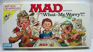 Board Game 'The MAD Magazine Game' (Not New & Improved) • USA