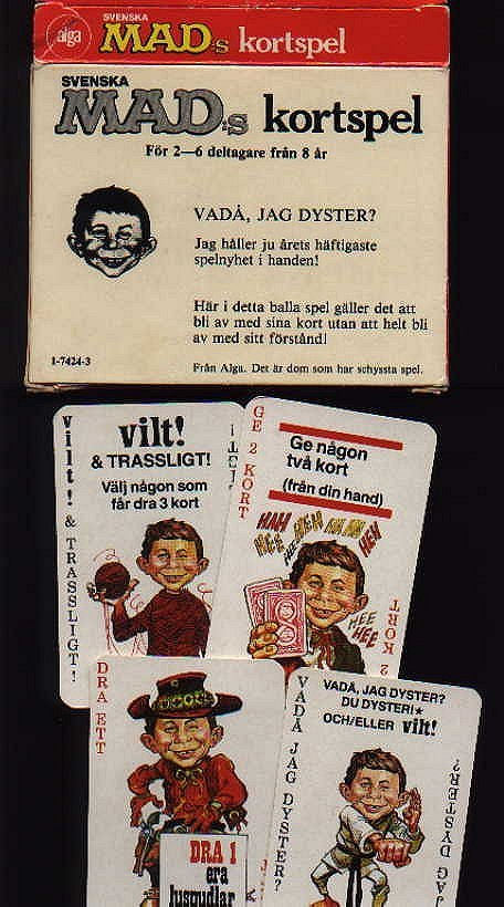 Card Game 'Svenskas MAD Kortspel' • Sweden