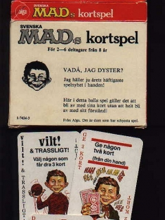 Go to Card Game 'Svenskas MAD Kortspel' • Sweden