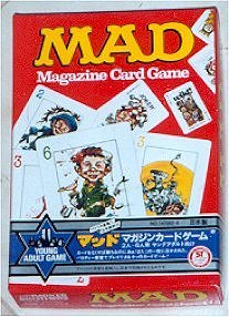 Card Game 'MAD Magazine Card Game' (Japanese Version) • Japan
