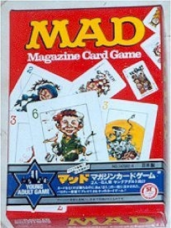 Go to Card Game 'MAD Magazine Card Game' (Japanese Version) • Japan