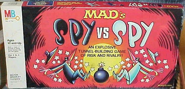 Board Game 'MAD's Spy vs Spy' • USA