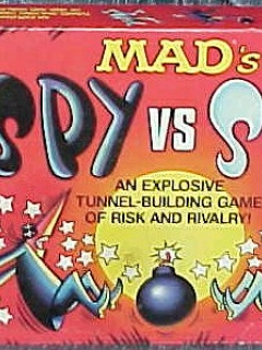 Go to Board Game 'MAD's Spy vs Spy' • USA